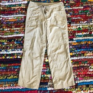 The North Face Khaki Hiking Pants Size 8